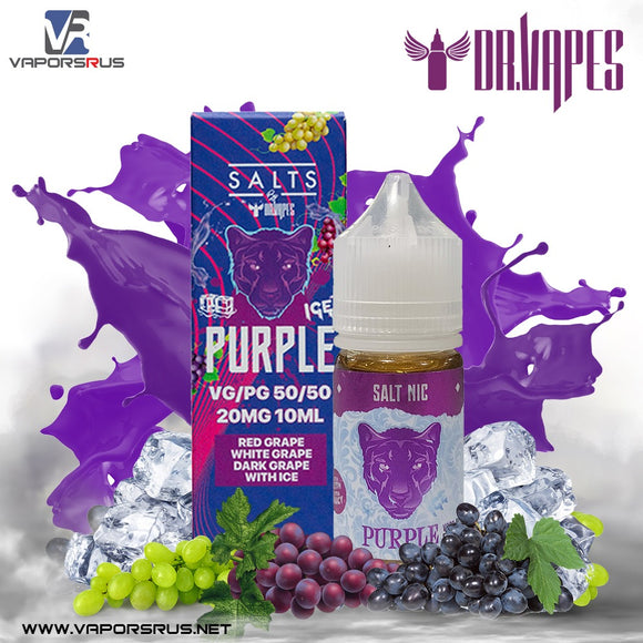 Purple Panther Ice Salt Nicotine | The Panther Series