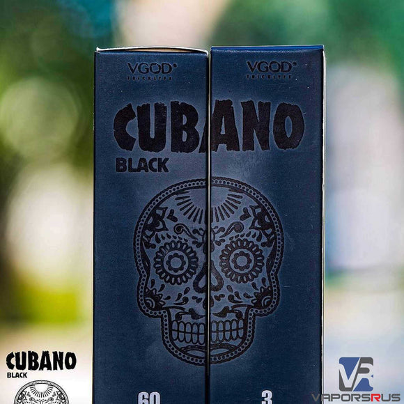 Black Cubano by VGOD | UAE Vapors R Us - The first vape store in UAE