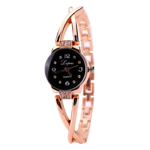 Watch, Ladies' Watch Luxury Crystal Bracelet Gemstone - Songbird Deals