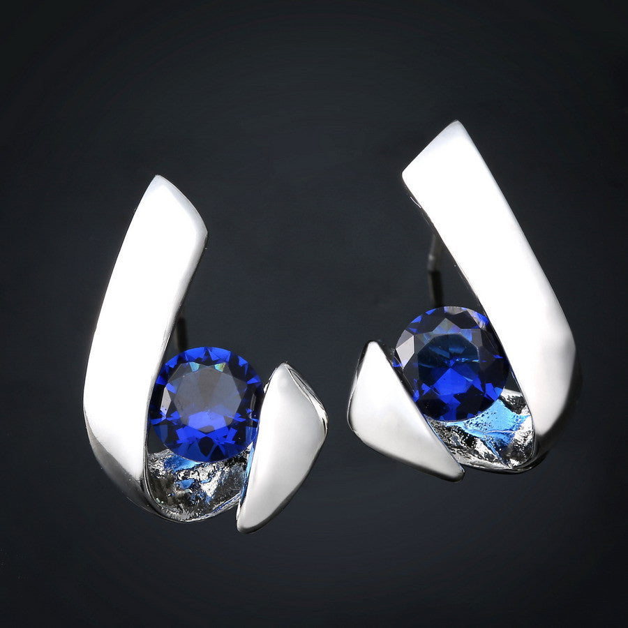 Earrings. Inlay Zircon  Earring   Jewelry - Songbird Deals