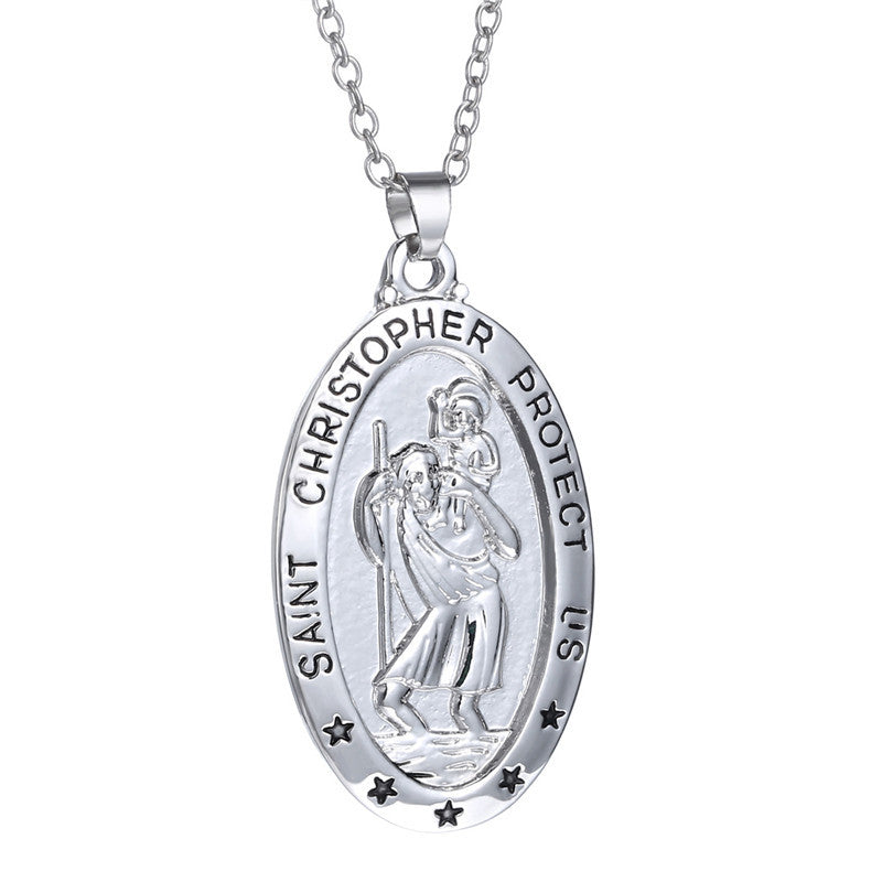 Saint Christopher Necklace - Songbird Deals