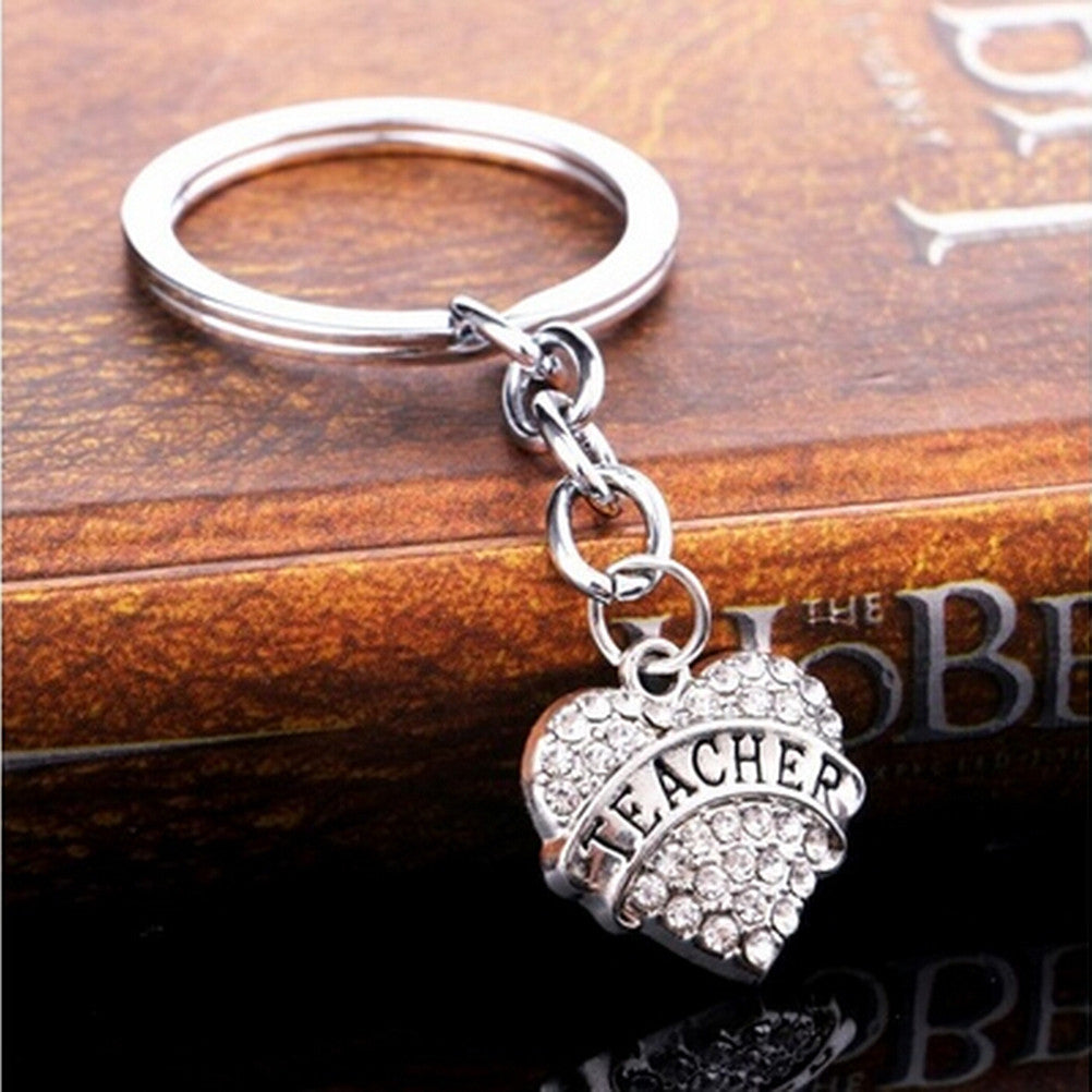 Keyring. Teacher Keyring Teacher's Day Gifts Jewelry  Chain Wholesale - Songbird Deals