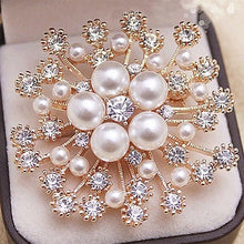 Jewelry, Popular KC Gold Plated High Quality Imitation Pearl And Crystals Flower  Brooch - Songbird Deals