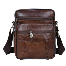 Handbag. Genuine  Cow Leather  Bag Men Casual Travel Business Crossbody - Songbird Deals