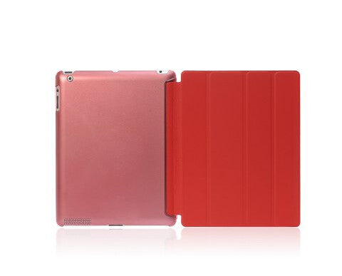 Four Fold PU Leather with Crystal Hard Back Smart Stand Case Cover for iPad 2 iPad 3 iPad 4 - Songbird Deals
