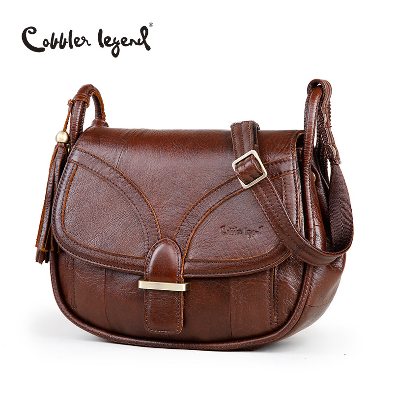 Handbag. Cobbler Legend Designer  Genuine Leather Vintage  Shoulder Bag Crossbody - Songbird Deals