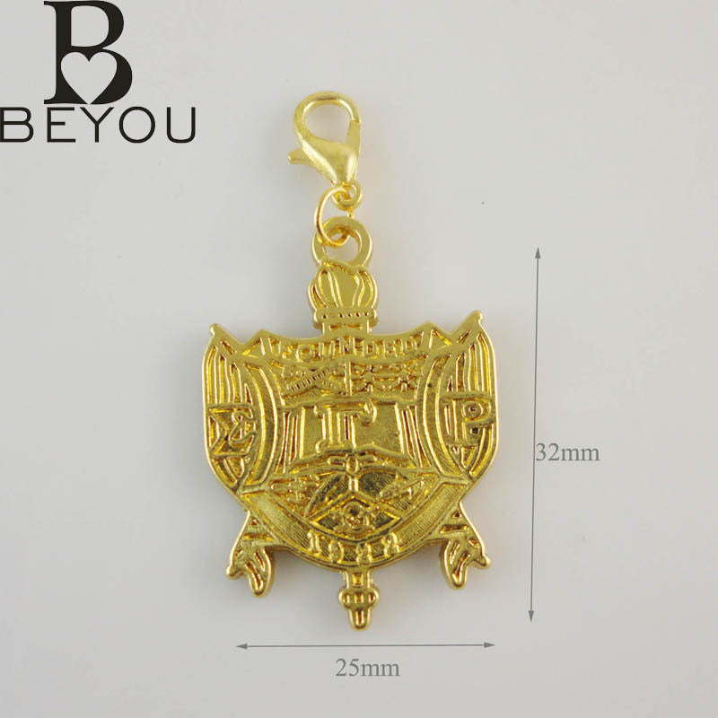 Sigma Gamma Rho Crest charms 10pcs 1 lot BGLO 'Divine 9' - Songbird Deals