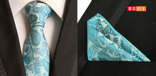 Necktie. (1pieces/lot) 100% Silk tie set Men's Pocket Square Set Ties For Men Slim Necktie - Songbird Deals