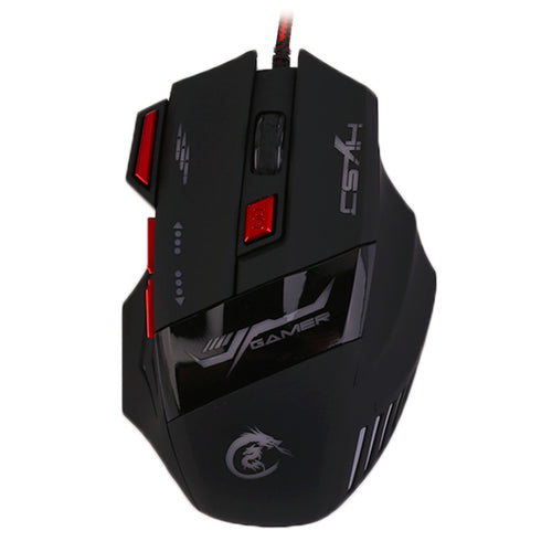 H100 Professional Adjustable  5500DPI Wired Gaming Mouse - Songbird Deals