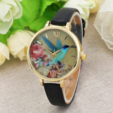 Watches Women Watches Flower Pattern Female Clock Quartz Watch Ladies Quartz-watch - Songbird Deals