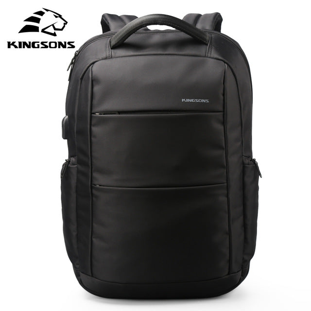 Kingsons External Charging USB Function Laptop Backpack Anti-theft Women Business Dayback  Travel Bag 15.6 inch KS3142W - Songbird Deals