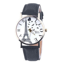 Watch. Leather Band Analog Quartz Vogue Wrist Watches - Songbird Deals