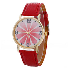 Women Creative Pattern Quartz Watch Leather Straplt Table Watch - Songbird Deals