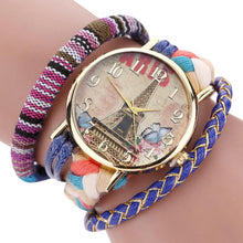 Watch Bracelet Theeek Stylish And Chic Knit Bracelet Watch Ladies Decorative - Songbird Deals