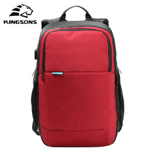 Kingsons Top Quality Teenager Student Girl Women Men Backpack Usb Charge Anti-theft Famous Brand Notebook Laptop Bag Rucksack - Songbird Deals