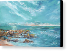 Art.  Into The Horizon II Canvas Print by Julie Derice - Songbird Deals