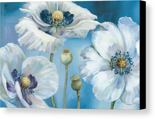 Art. Blue Dance I Canvas Print by Lisa Audit - Songbird Deals