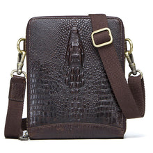 Bag. Shoulder Bag Genuine Leather Vintage Crocodile Crossbody Card Holder Mobile Phone Pouch - Songbird Deals