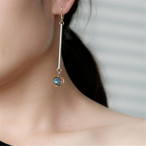 Copper Alloy Drop Earrings