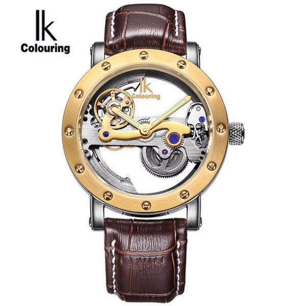 IK Colouring Luxury Self Wind Automatic New Style Black Men's - Levers Escape- Company, Local GTA, United States, Online Shopping, Free Shipping, Luxury Watches, Casual Watches, Affordable Watches, 60 Day Money Back, Shop Refer And Save, Free Gifts, Faceb