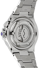 Seiko Men's SRN063 Coutura Kinetic Retrograde Silver-Tone Stainless Steel Watch back view