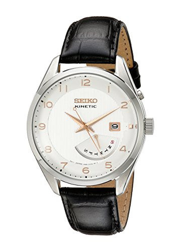 Seiko Men SRN049 Kinetic Stainless Steel Watch - Levers Escape- Men's/Women's Luxury Watches, Fashion Items, Accessories, Literature & More