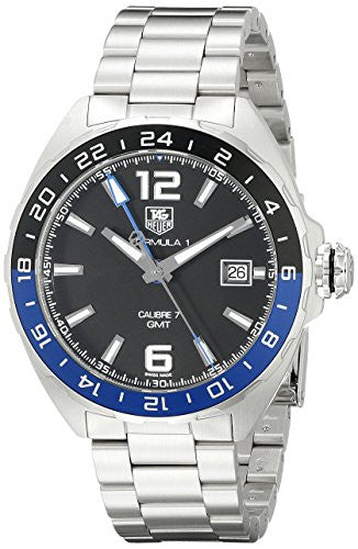 TAG Heuer Men's WAZ211A.BA0875 Formula 1 Analog Display Swiss Automatic Silver Watch