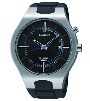 Seiko SKA651 Kinetic Stainless Steel Rubber Strap 100M Men's Watch
