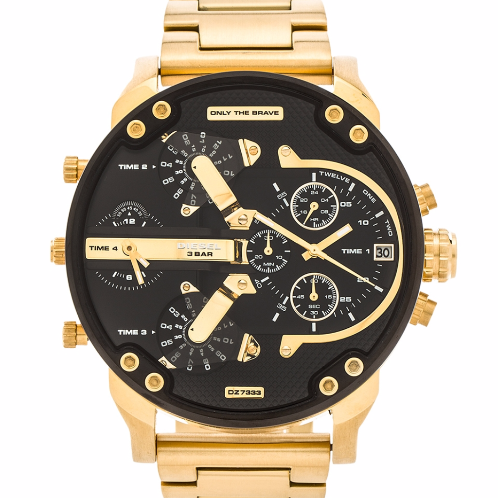 Diesel Mr Daddy 2.0 Gold - Levers Escape- Men's/Women's Luxury Watches, Fashion Items, Accessories, Literature & More