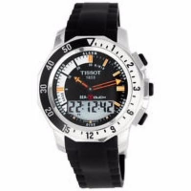 Tissot T-Touch Sea-Touch Men's Watch - Levers Escape- Men's/Women's Luxury Watches, Fashion Items, Accessories, Literature & More