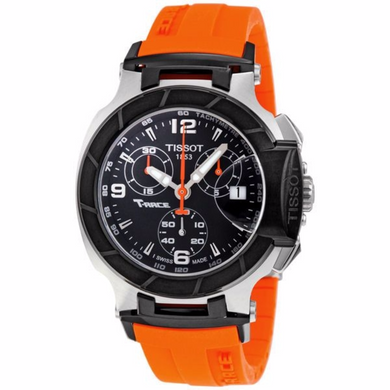 Tissot T Race Chronograph Orange Silicone Ladies Watch - Levers Escape- Men's/Women's Luxury Watches, Fashion Items, Accessories, Literature & More