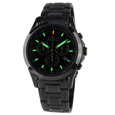 EPOCH 6022G waterproof 100m tritium gas luminous triple window sport chronograph mens quartz watch - Levers Escape- Men's/Women's Luxury Watches, Fashion Items, Accessories, Literature & More
