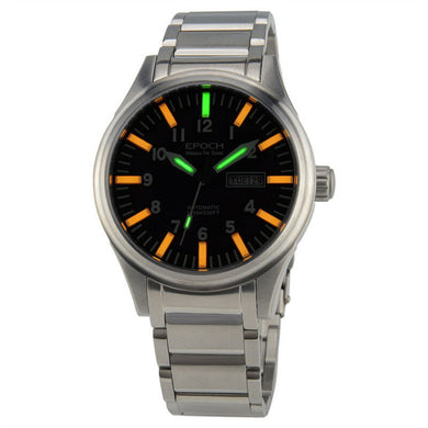 EPOCH 7016G steel strap waterproof 100m tritium gas 3 colors luminous - Levers Escape- Men's/Women's Luxury Watches, Fashion Items, Accessories, Literature & More