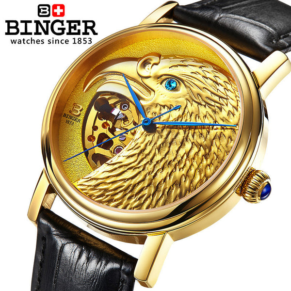 BINGER Hawk Series - Levers Escape- Mens and Women's Luxury Watches, Fashion Accessories & Literature