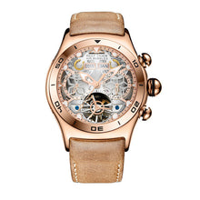 Reef Tiger/RT Sport Watch For Men Skeleton Luminous Watch Year Month Date Day Rose Gold Automatic Watches RGA703 - Levers Escape- Men's/Women's Luxury Watches, Fashion Items, Accessories, Literature & More