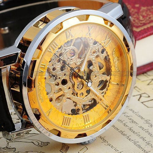 Luxury Hollow Mechanical Style Design By Winner This Edition Is a Free Offer!