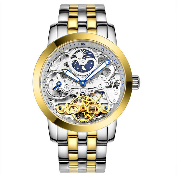 Luxury Men's Mechanical Design Watch By Lige - Levers Escape- Mens and Women's Luxury Watches, Fashion Accessories & Literature