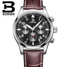 BINGER Mens Luxury Quartz Chronograph Watch - Levers Escape- Men's/Women's Luxury Watches, Fashion Items, Accessories, Literature & More