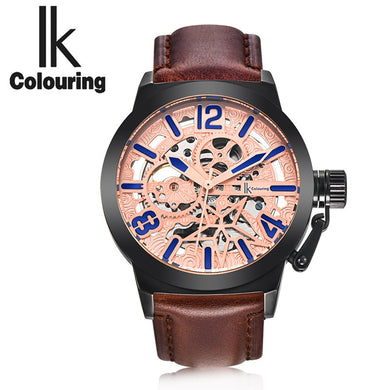 Ik Colouring Men's Luxury Mechanical Watches - Levers Escape- Men's/Women's Luxury Watches, Fashion Items, Accessories, Literature & More