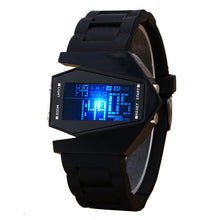 Aircraft Shape Jelly Silicone LED Digital Watch - Levers Escape- Men's/Women's Luxury Watches, Fashion Items, Accessories, Literature & More