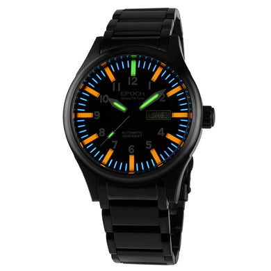 EPOCH 7019G steel strap waterproof 100m  tritium gas tubes luminous Men's - Levers Escape- Men's/Women's Luxury Watches, Fashion Items, Accessories, Literature & More
