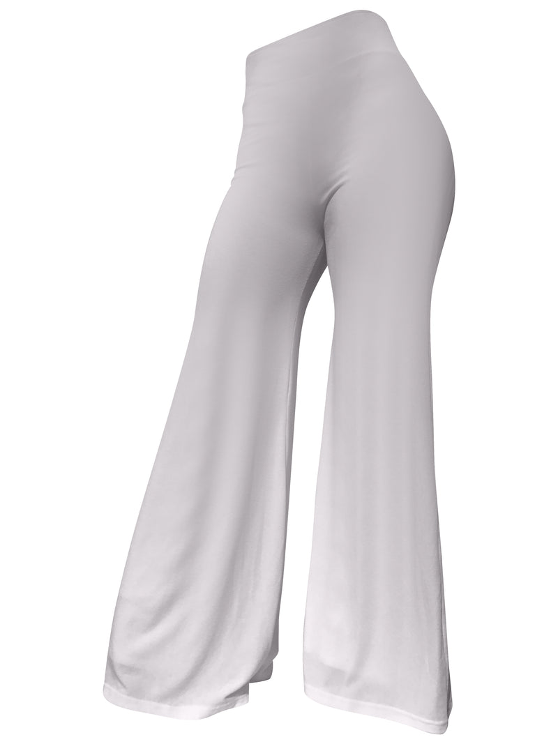 The Staple Wide Leg Pants - White - Staple & Hue - ladies wide leg pants - women's wide leg pants - Australian Designer - Premium Fabrics - Celebrity Fashion - Luxe - Basics - Kylie Jenner - Khloe Kardashian - ladies clothing australia - ladies clothing online australia - Bella Hadid - Australian Fashion Brand - shop the look - staple and hue
