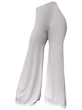 The Staple Wide Leg Pants - White - Staple & Hue