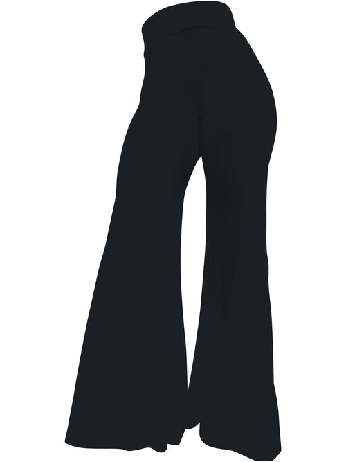 The Staple Wide Leg Pants - Black - Staple & Hue