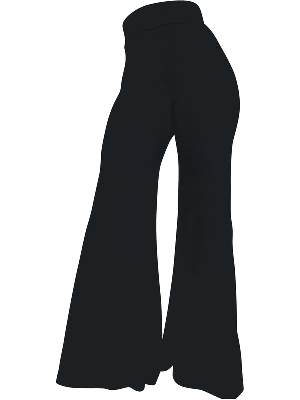 The Staple Wide Leg Pants - Black - Staple & Hue - ladies wide leg pants - women's wide leg pants - Australian Designer - Premium Fabrics - Celebrity Fashion - Luxe - Basics - Kylie Jenner - Khloe Kardashian - ladies clothing australia - ladies clothing online australia - Bella Hadid - Australian Fashion Brand - shop the look - staple and hue