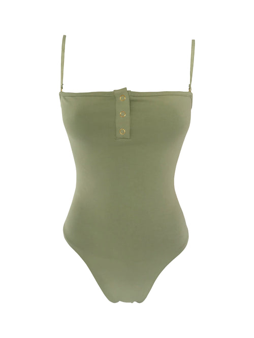 The Staple Bodysuit - Sage - Staple & Hue