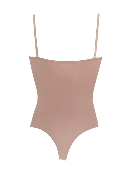 The Staple Bodysuit - Dusty Rose - Staple & Hue
