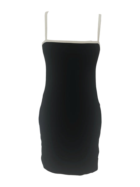 The Staple Mini Dress - Black/White - Staple & Hue