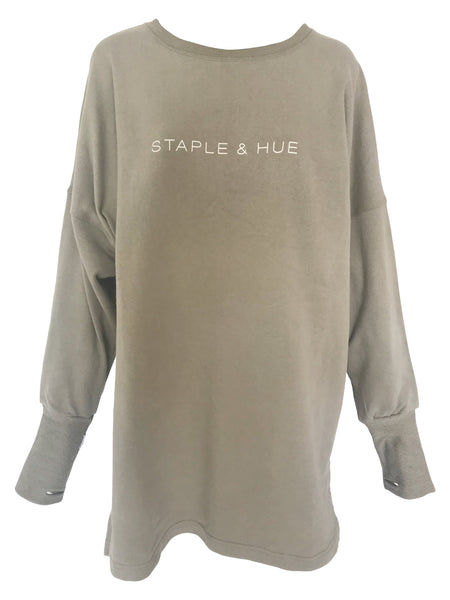 The Staple Jumper Dress - Dusty Rose