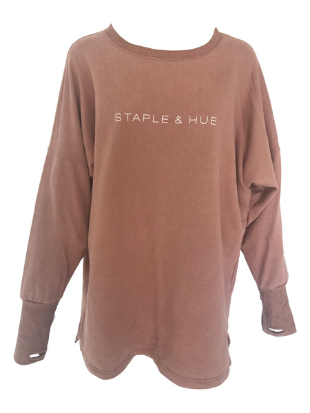 The Staple Jumper Dress - Dusty Rose - Staple & Hue
